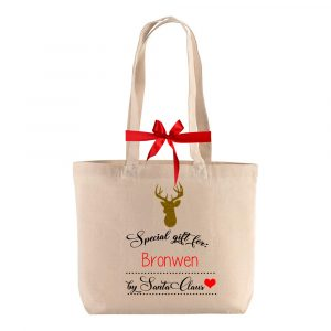 christmas bag customized name